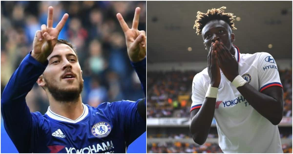 Tammy Abraham: Chelsea youngster breaks Eden Hazard's record after hitting three past Wolves ▷ Kenya News