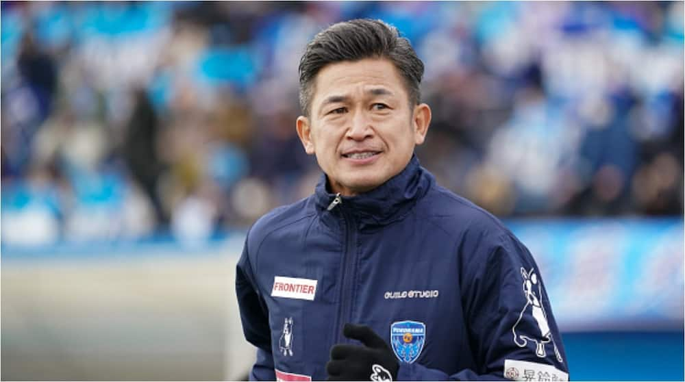 Kazuyoshi Miura signs contract to play past 54th birthday in Japan's top flight