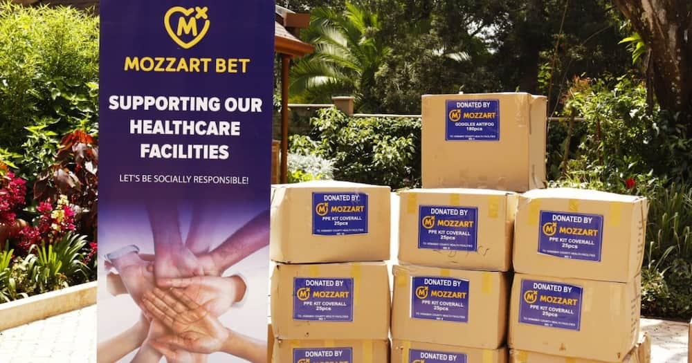 Mozzart Country Manager Sasa Krneta confirmed the organization would continue its support to Kenyan communities through its various CSR activities. Photo: Mozzart.