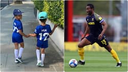 Chelsea Legend Mikel Obi Shares Video of His Adorable Twins Rocking Chelsea Jersey