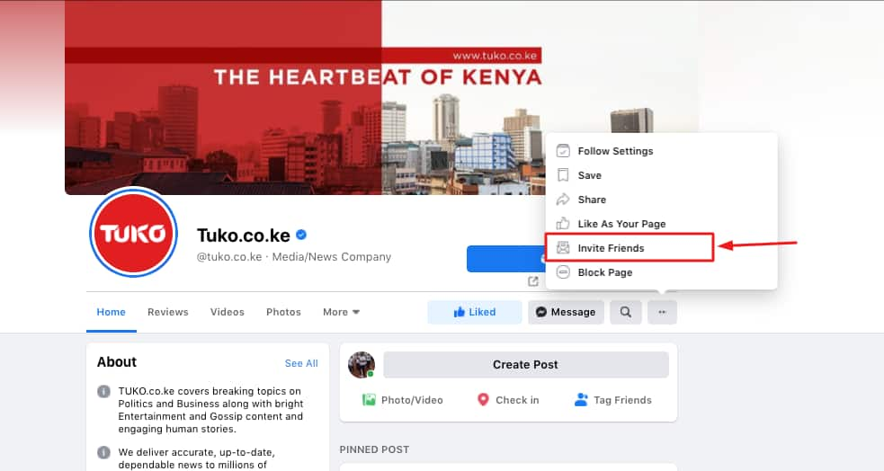 To our loyal readers! How to keep getting latest TUKO news on your Facebook News Feed