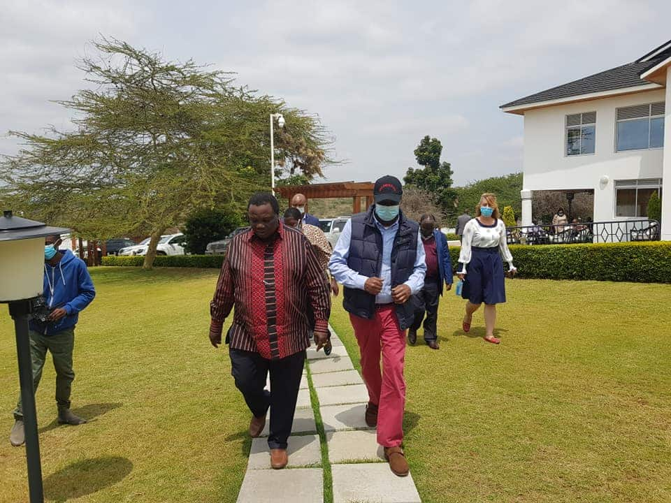 Murathe, Peter Kenneth na Gideon Moi wafanya mkutano kwa Atwoli
