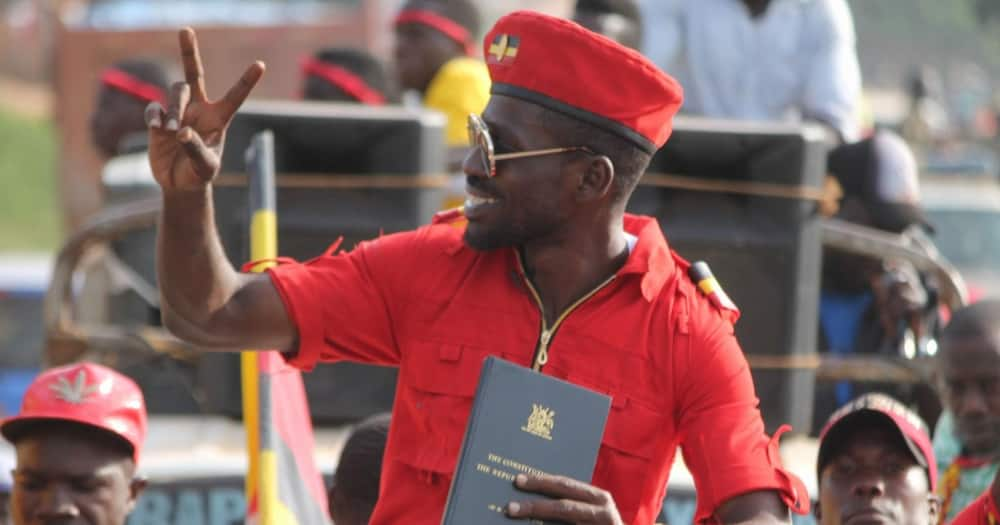 """Bobi Wine endorses Museveni's candidate for MP seat: """"He inspires me"""""""
