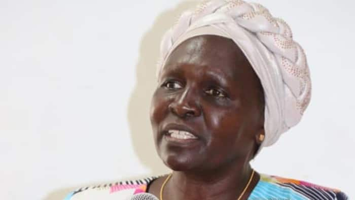 Kericho MCAs Block Senate Deputy Speaker Margaret Kamar from Addressing Them