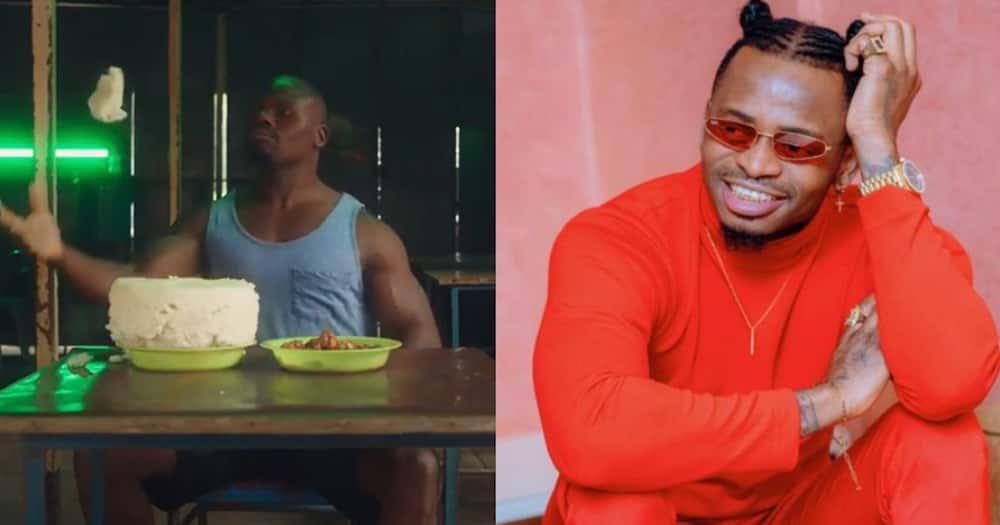 "Diamond Platnumz Impressed by Ugali Man's Viral Video: ""I Love"""