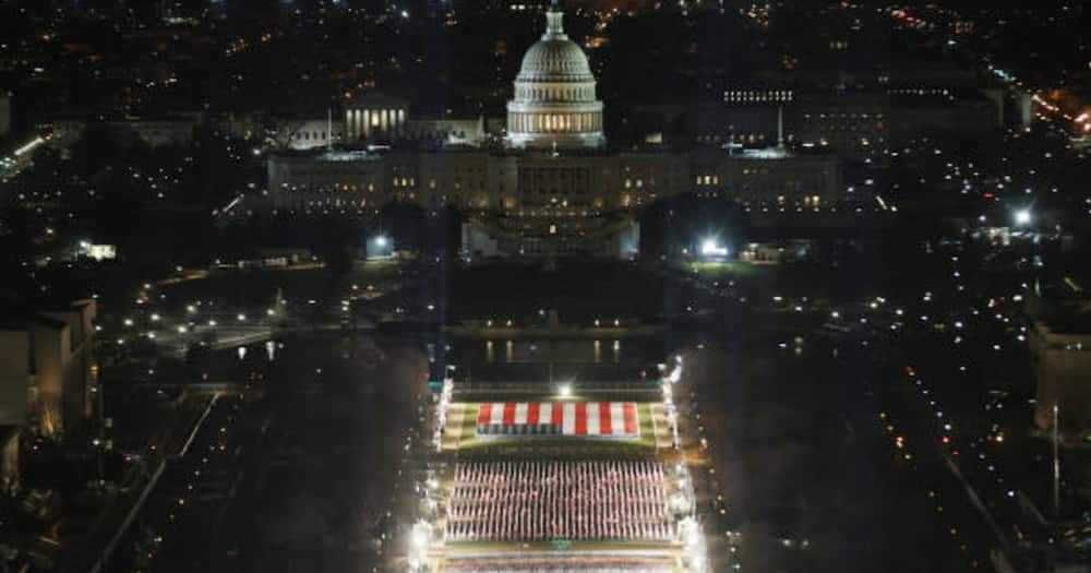 Biden's inauguration rehearsal suspended briefly over security threat as US Capitol put on lockdown