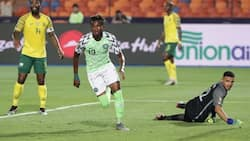 Super Eagles star Chukwueze sets 1 new record at AFCON 2019 after scoring vs South Africa
