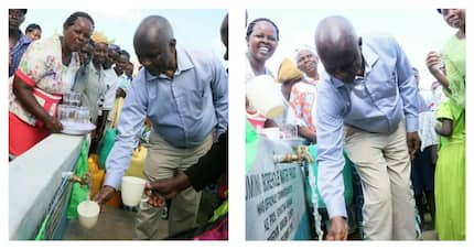 Development oriented Makueni Governor Kivutha Kibwana launches water projects for residents