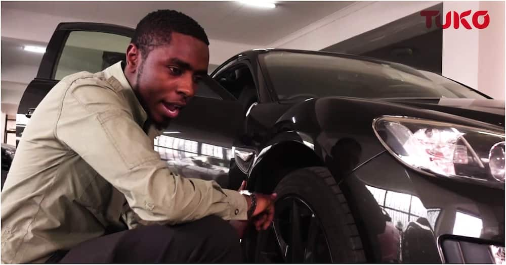 Exclusive: Kenyan Chadwick Boseman's lookalike does detailed car reviews despite being visually impaired