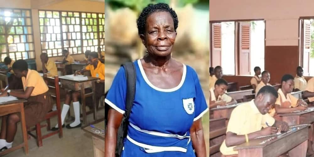 I want to work as professional nurse in future - 57 year-old JHS graduate