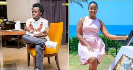 Singer Bahati leaves Kenyans in awe after taking wife to South Africa on birthday