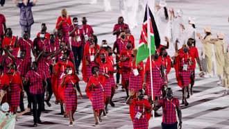 Kenyan Athletes Show Up at Olympics Opening Ceremony in Elegant Maasai Regalia