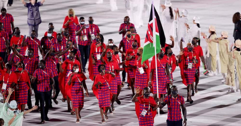 Kenya stole the show at Olympics opening ceremony with maasai regalia