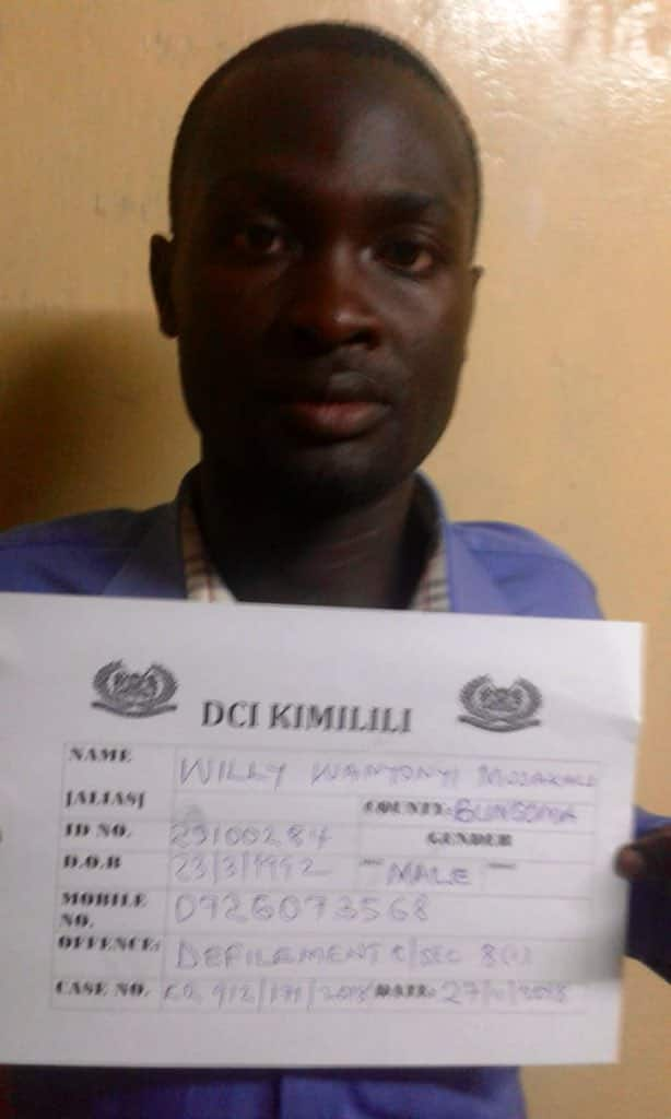 Bungoma teacher arrested five months after defiling student and dodging detectives