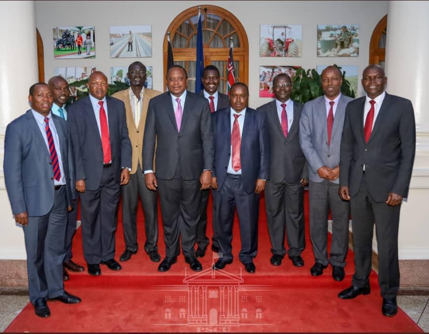 Rais Uhuru Kenyatta akutana na magavana kutoka mkoa wa Bonde la ufa