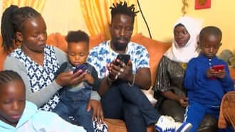 Takid Master: 37-Year-Old Kenyan Man with 2 Wives, 8 Children and Grandchild Says They Live Happily Together