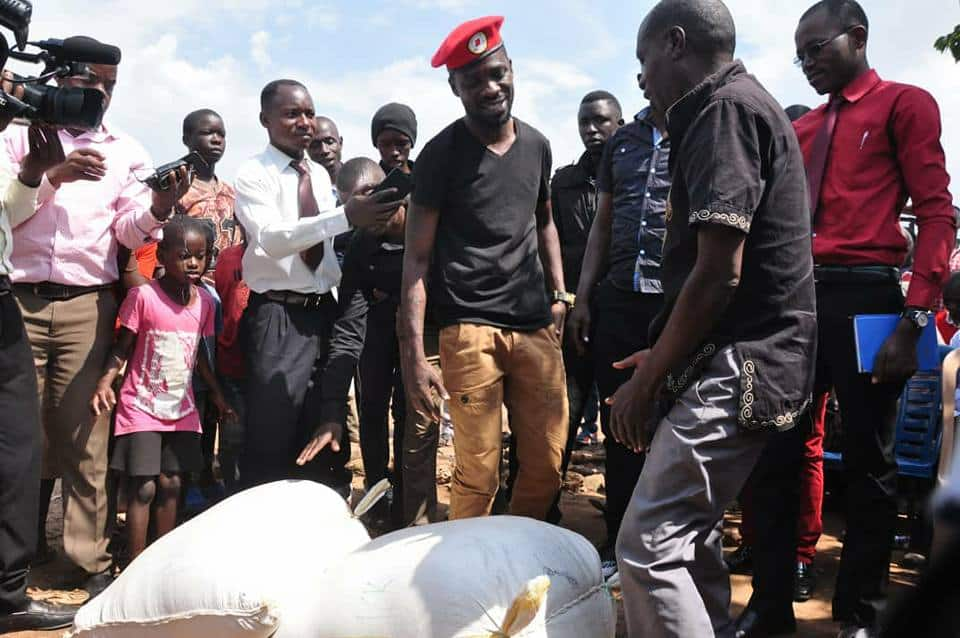 Uganda MP Bobi Wine's Boxing Day party preparation disrupted by police, organisers arrested