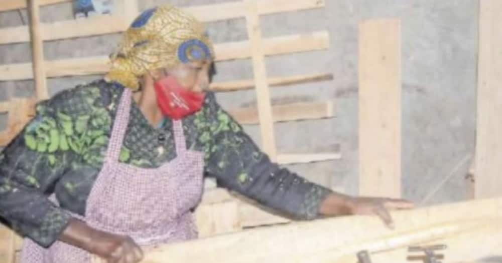 Nakuru Woman Earns KSh 200k Monthly After Taking Over Carpentry Job in Honour of Late Son