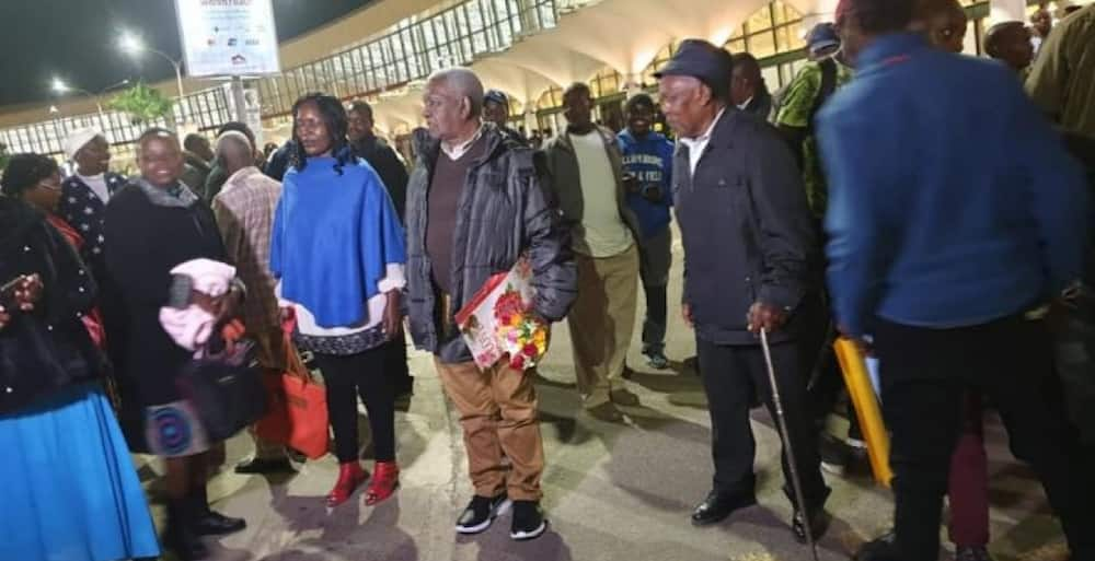 No place like home: Joy as 84-year-old Kenyan man returns after 60 years in USA