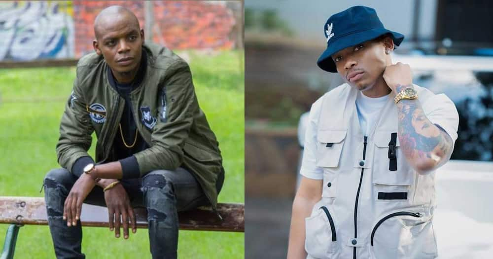Jimmy Gait(l) and Otile Brown.