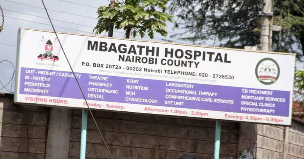 The Mbagathi Hospital. Photo: Mike Sonko.