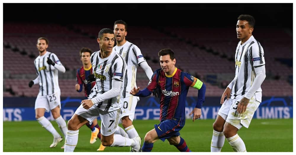 Cristiano Ronaldo claims Messi was never his rival after Juventus beat Barcelona