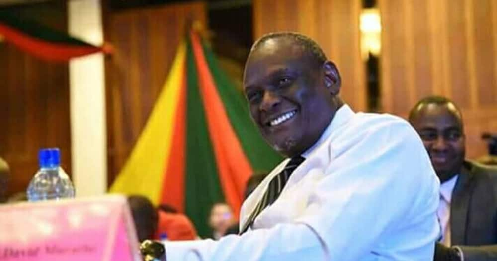 David Murathe Shows His Soft Side during Family Photoshoot alongside His Kids