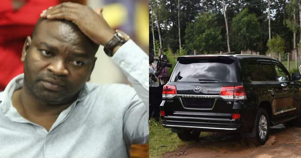 Aliyekuwa waziri wa Michezo Rashid Echesa apata sababu ya kutabasamu