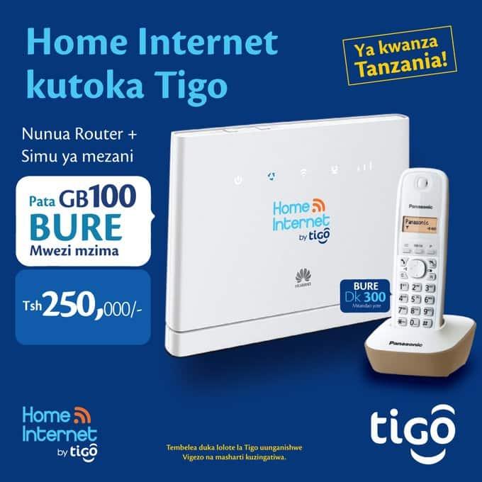 Tigo Tanzania: Internet bundles and contacts
