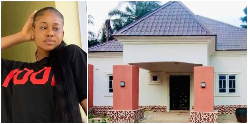 Nollywood actress Peace Onuoha dedicates her first home to late dad