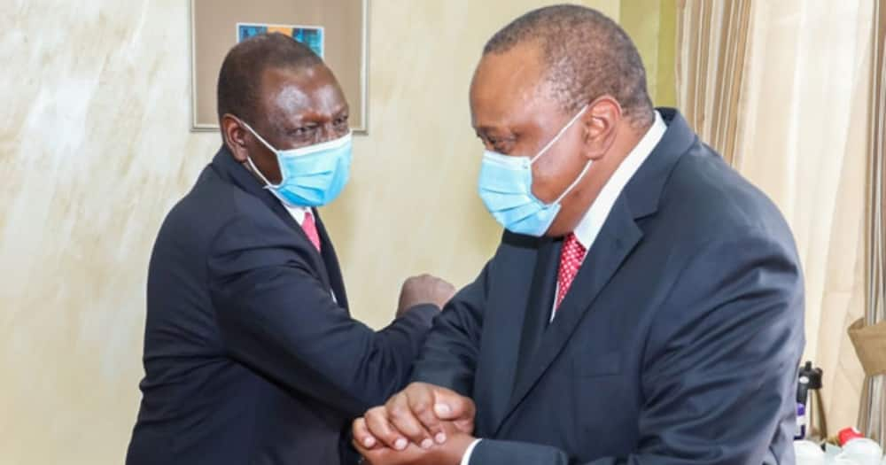 William Ruto was pushed to the periphery after the handshake truce.
