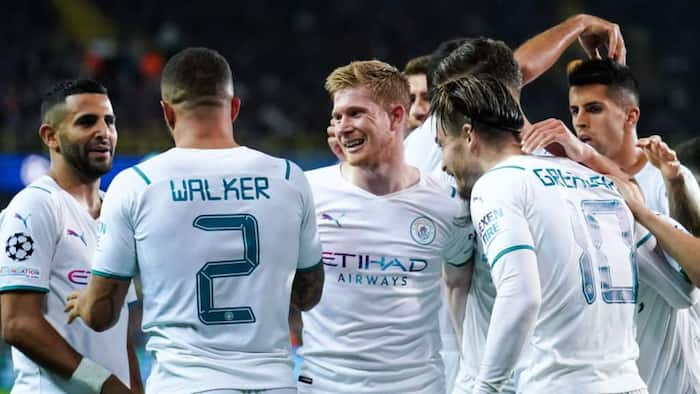 19-year-old Cole Palmer scores first Champions League goal as Man City demolish Club Brugge