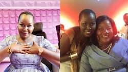 "Emmy Kosgei Tells Off Female Fan for Disrespectful Comment on Ida Odinga: ""Maximum Respect Hapa"""
