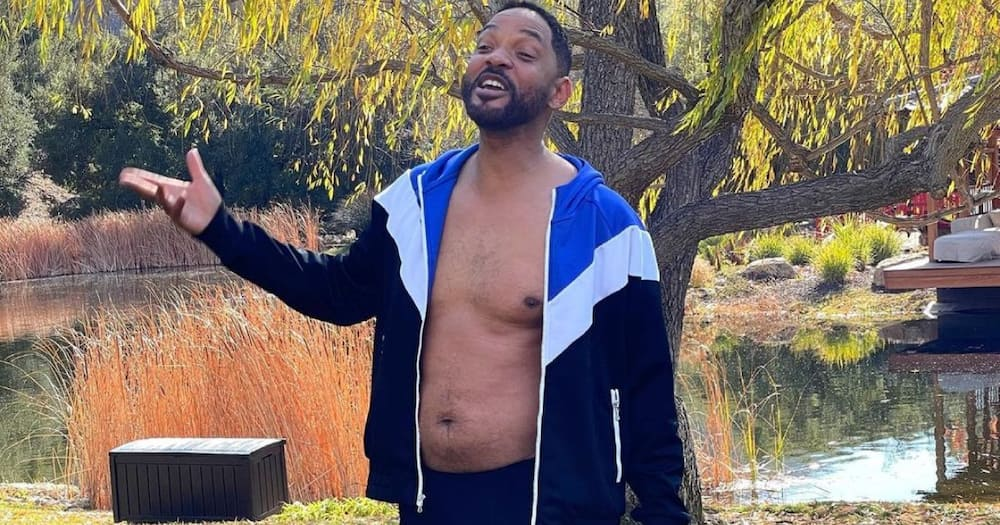 Will Smith: Men With Potbellies Mimic Actor's Hilarious Pose, Promise to Start Fitness Journey