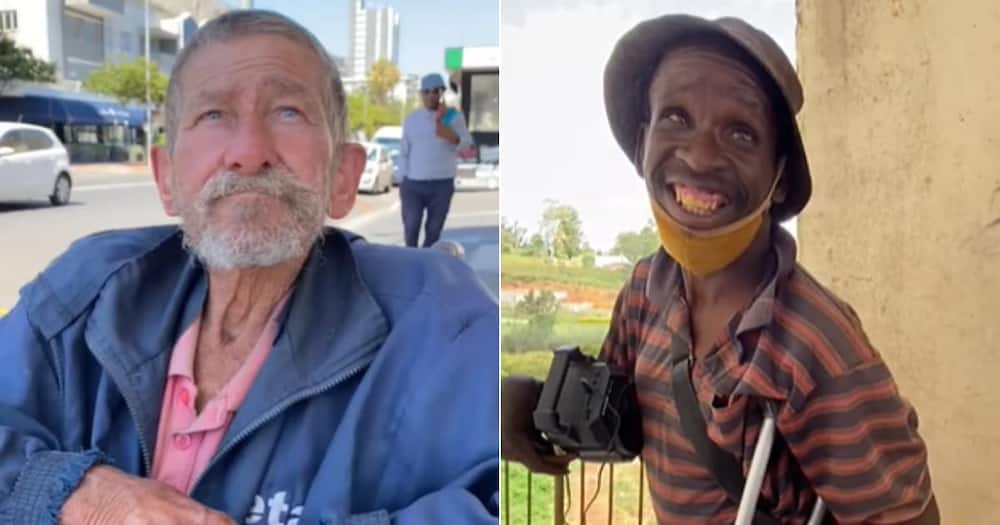 'Thanks, Buddy': BI Phakati Inspires Mzansi After Blessing 2 Disabled Men