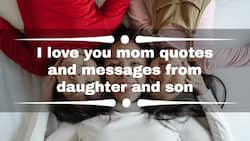 I love you mom quotes and messages from daughter and son