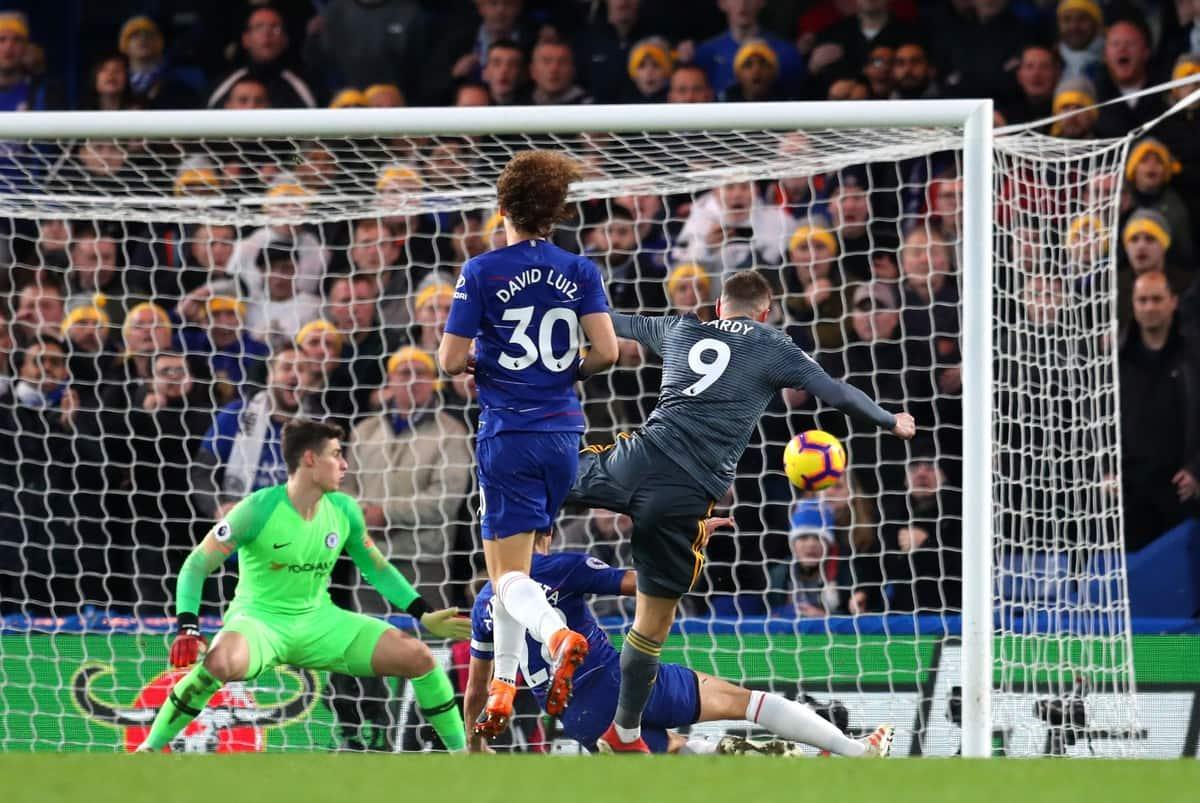Leicester City defeat Chelsea 1-0 in Premier League tie