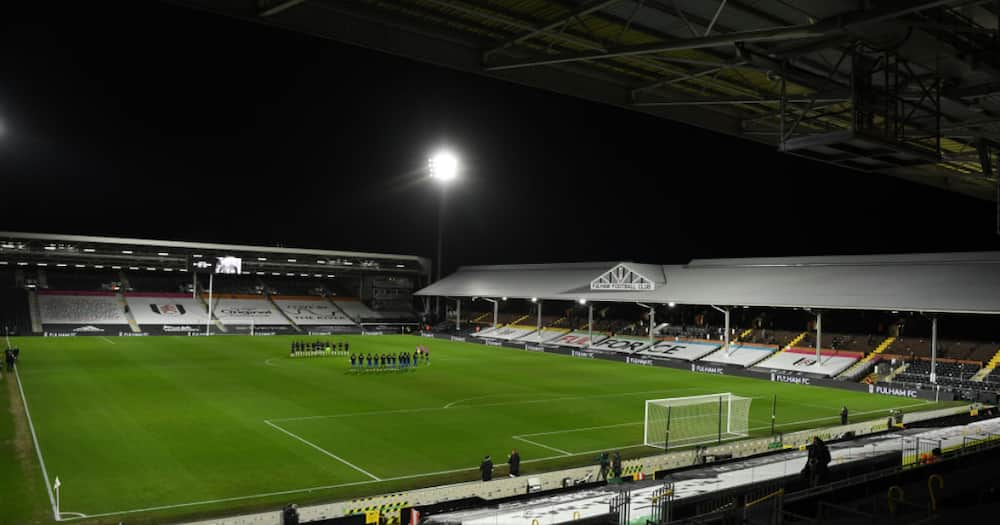 A general view inside the Craven Cottage stadium. (Photo by Mike Hewitt/Getty Images)