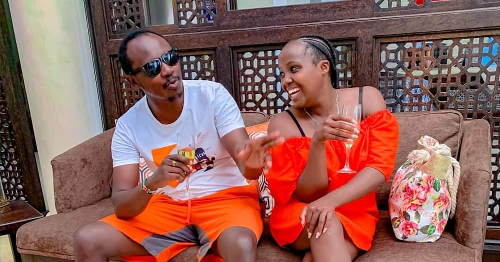 "Gospel singer Kymo Thitima celebrates wife on their 5th wedding anniversary: ""You are my oxygen"""