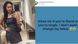 Woman with ex named David looking for new lover with same name to avoid changing tattoo
