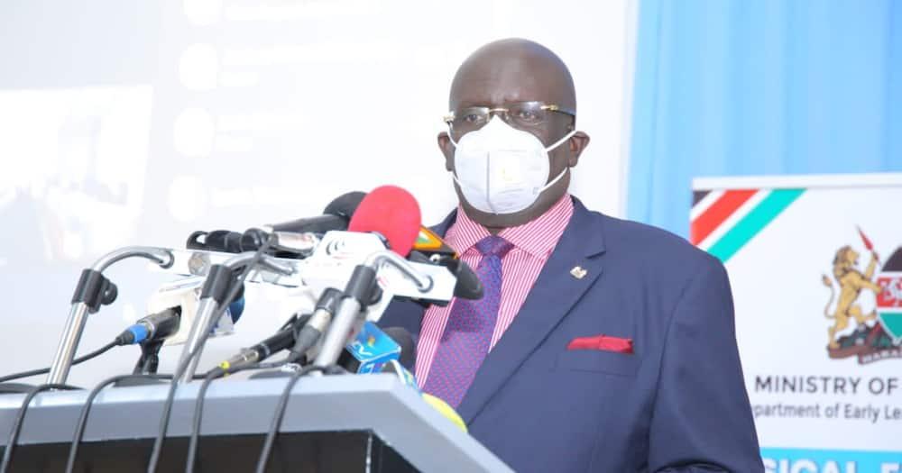 Education Cabinet Secretary George Magoha. Photo: EduMinKenya.