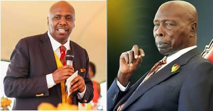 Mzee Moi's health is getting better - Gideon Moi