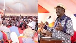 Mkutano wa Raila Isiolo Watibuka Vijana Wakimzomea Kuti