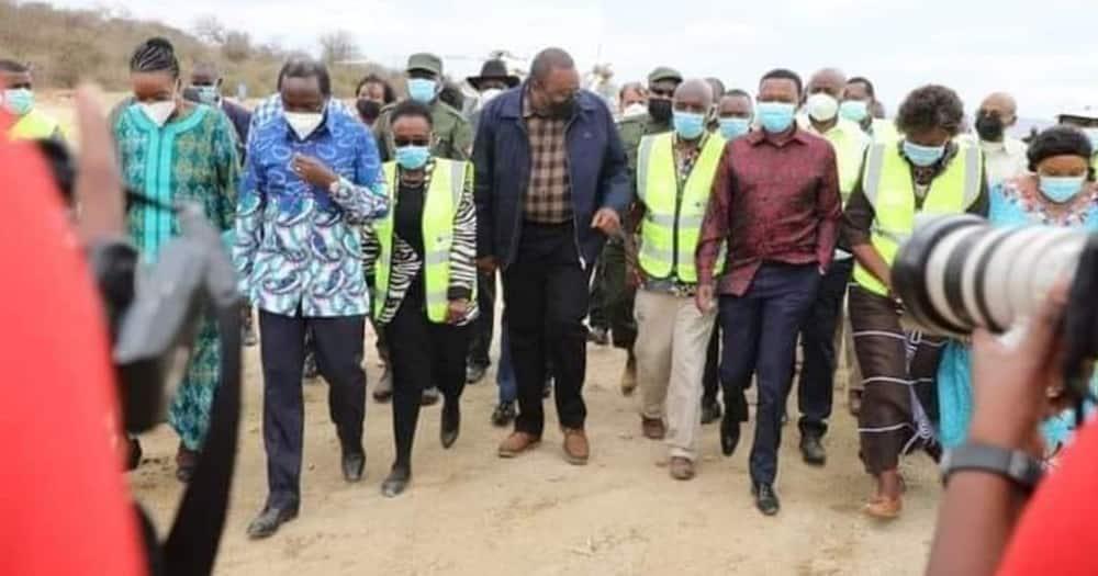 Ukambani region has had a feel of President Uhuru Kenyatta's government for a while now.