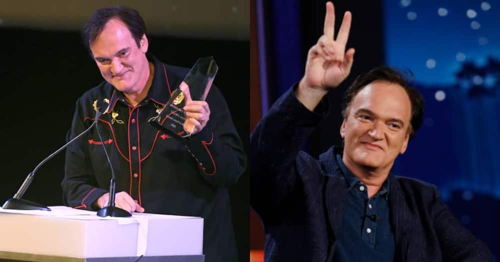 Quentin Tarantino, a famous American film director.