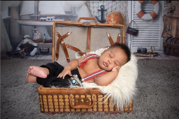 Corazon Kwamboka, Frankie justgymit post 1st photos of their handsome son