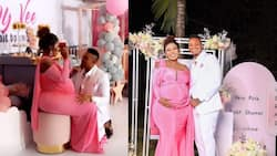 Brown Mauzo Helps Vera Sidika Adjust Shoes, Massages Her Neck During Star-Studded Baby Shower