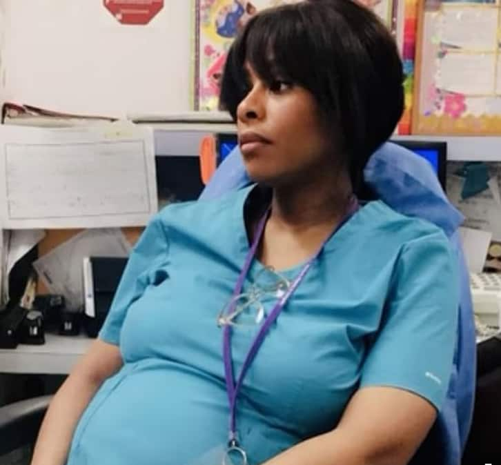 Nurse who contracted COVID-19 while pregnant can't recognise her baby