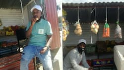 Local Man Inspires Netizens with Creative Business Idea of Spaza Shop