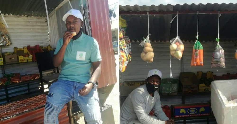 Local man inspires netizens with creative business idea.